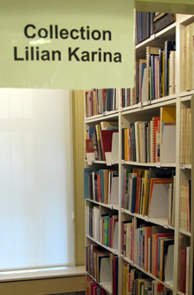 Lilian Karina's collection